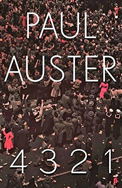 Buchcover 4321 Paul Auster