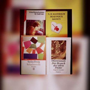 Schullektüre, welche ich während der Schulzeit gelesen habe