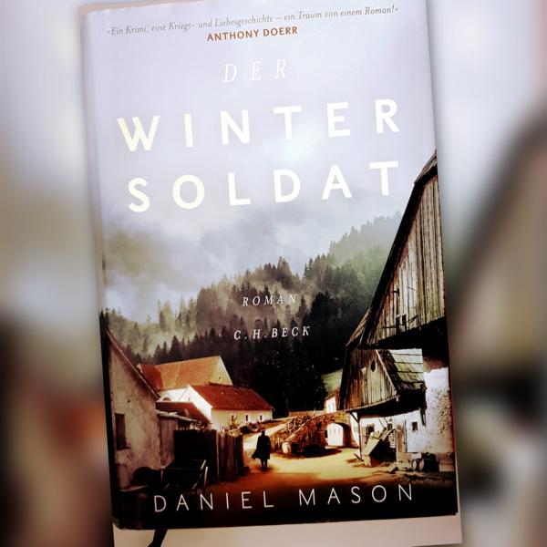 Hardcover Ausgabe von dem Roman Der Wintersoldat
