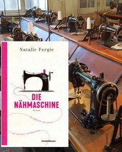 Das Buchcover Die Nähmaschine in Szene gesetzt
