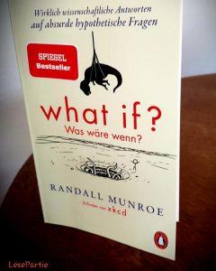 What if? Was wäre wenn? Buchcover