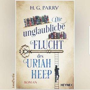 Die unglaubliche Flucht des Uriah Heep handelt von Charles Sutherland, der die Gabe besitzt Figuren aus Romanen herauslesen zu können.