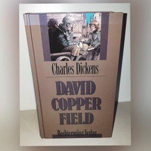 David Copperfield Romanvon Charles Dickens, in dem der Autor erstmals aus der Ich Perspektive erzählt