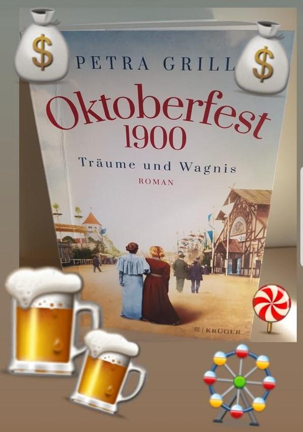 Oktoberfest 1900 Tradition und Fortschritt, Bierbude gegen Bierburg.