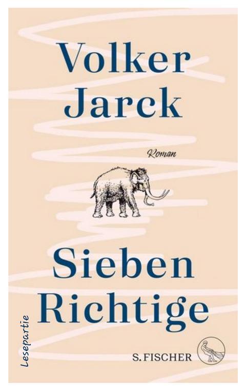 Sieben Richtige ist ein Episoden Roman, in dem sich die Wege der Figuren kreuzen, flüchtig oder für lange Zeit.